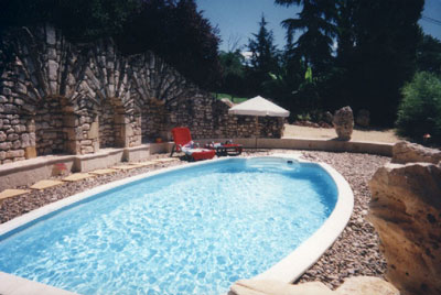 piscine gîte EST